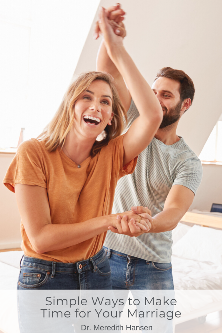 6 Simple Ways to Make Time for Your Marriage